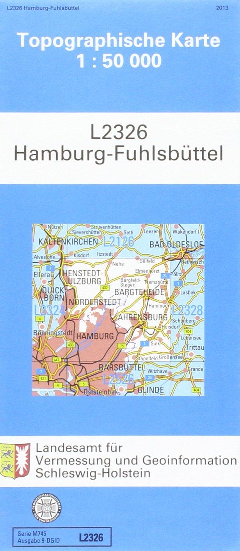 Hamburg-Fuhlsbüttel 1 : 50 000