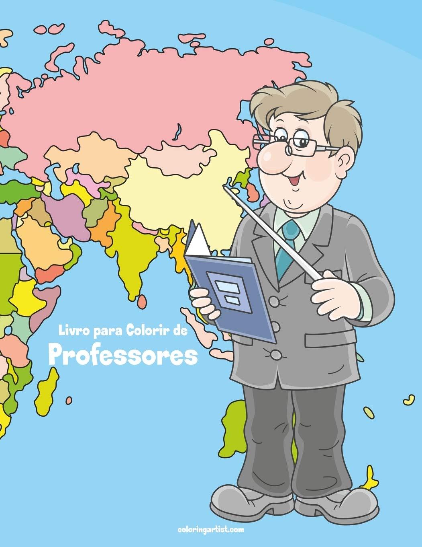 Livro Para Colorir De Professores Portuguese Edition Nick Snels