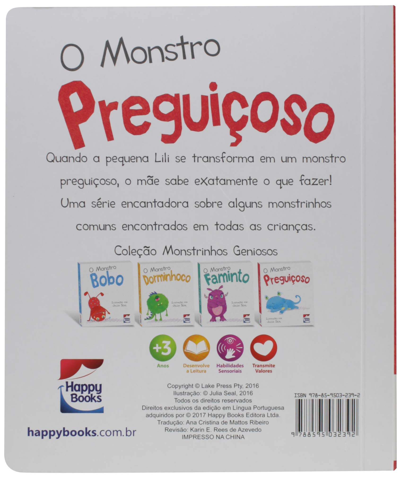 O Monstro Preguicoso (Em Portugues do Brasil): Happy Books ...