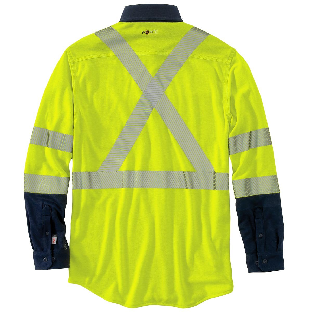 6ca4ff490d159 Amazon.com: Carhartt Men's Big & Tall Flame Resistant Hi Vis Force Hybrid  Shirt Class 3: Clothing
