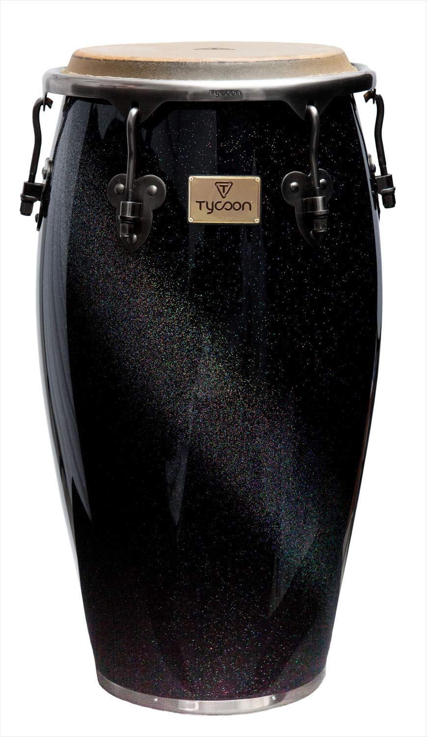 Tycoon Percussion 12 1/2 Inch Master Diamond Series Tumba With Single Stand by Tycoon Percussion