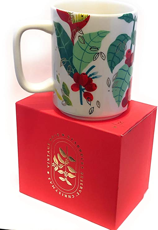 Amazon.com: Starbucks Christmas Reserve Collection Ceramic Coffee