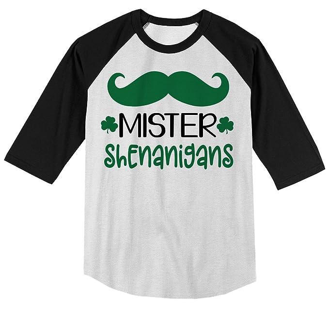 Amazon.com: Camisas por Sarah Boy s Mister Shenanigans ...