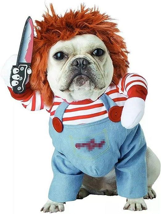 Oferta amazon: TVMALL - Disfraz de Mascota para Perros pequeños, Disfraz de Halloween, Disfraz de Perro pequeño, Disfraz de Navidad (S)