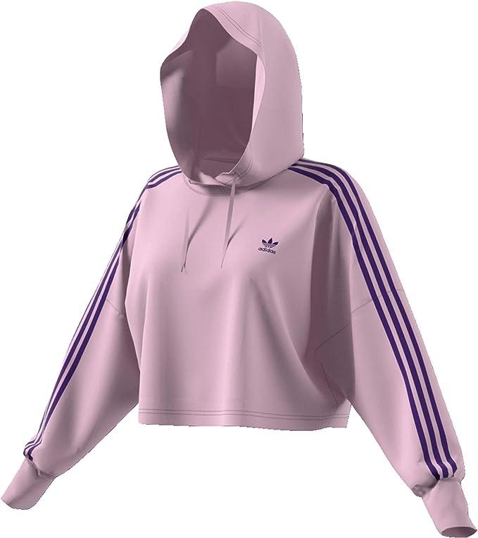 adidas Originals Damen Hoodies Cropped: : Bekleidung