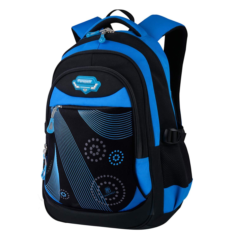Fanspack Cartable garcon 2019 Sac ecole garcon sac scolaire sac garcon primaire cartable enfant sac dos college garcon Sac a dos garcon