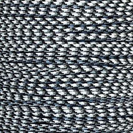 """West Coast Paracord Tactical 5-Strand Nylon Core 275-LB Tensile Strength 3//32/"""" Paracord Rope 2.38mm"""