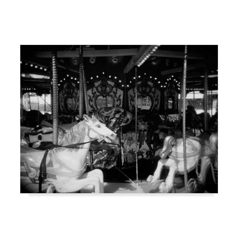 Trademark Fine Art Carousel I by Jim Christensen, 14x19Inch