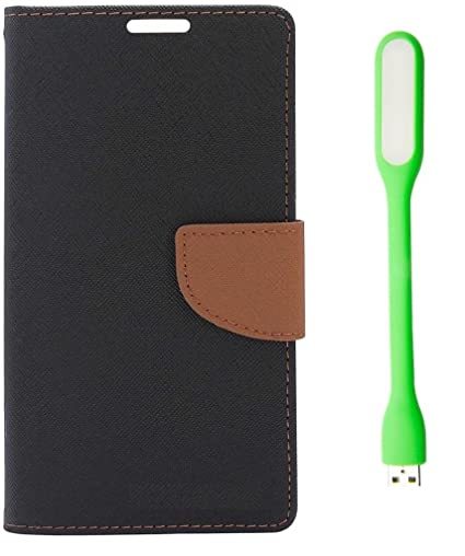 super popular d61be 64841 Mobile Life Mercury Flip Cover with Led Light for Oppo: Amazon.in ...