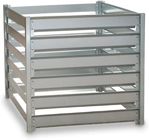Metal compostador, 91 x 91 x 85 cm, 700 L, ampliable: Amazon.es: Hogar