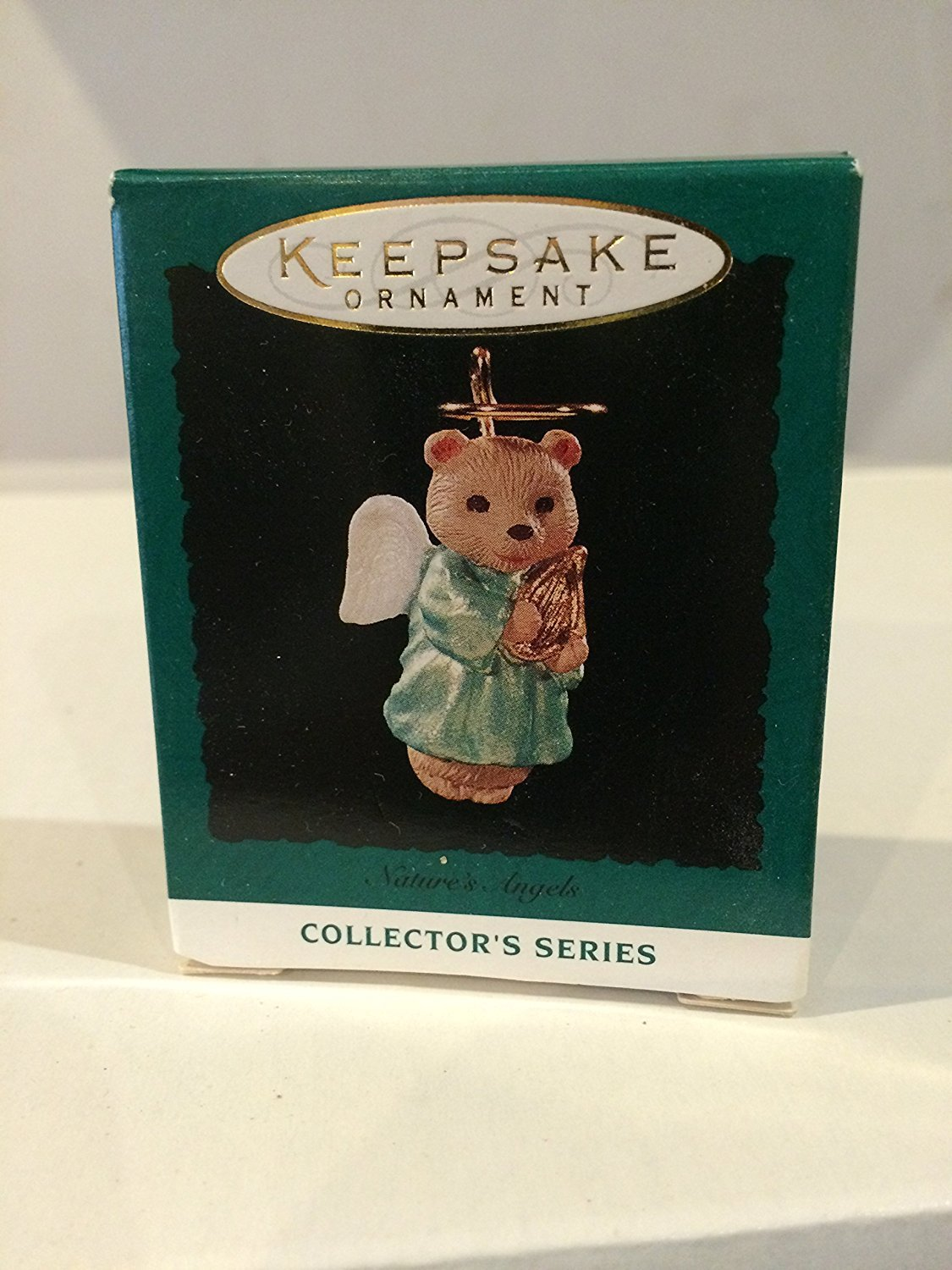 Keepsake Ornament Natures Angel in Sixth Series