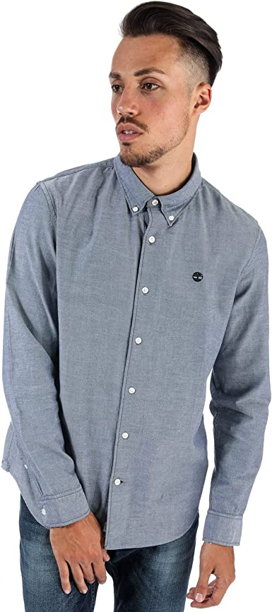 Timberland Rattle River Camisa, Blue (Dark Sapphire Yd), X-Large para Hombre: Amazon.es: Ropa y accesorios