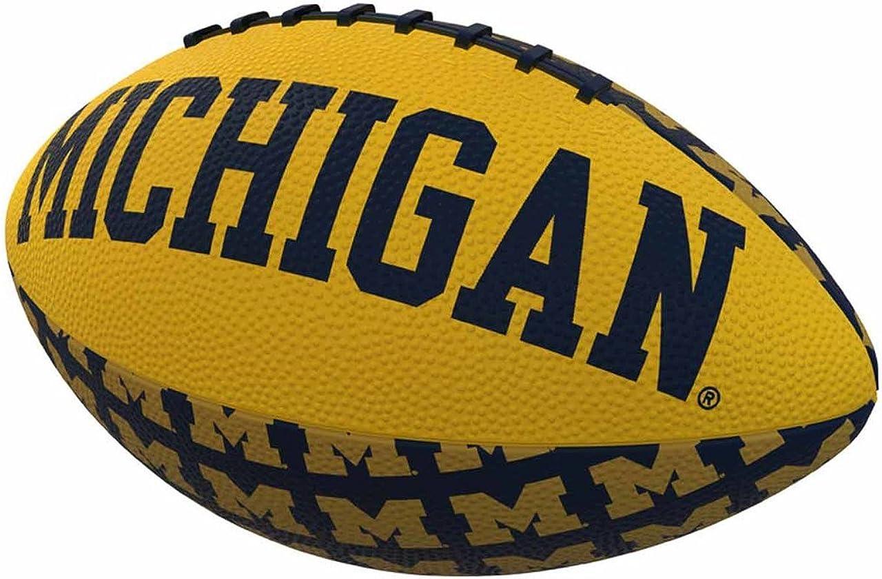 Logo Brands NCAA Unisex-Adult Miniature Rubber Football