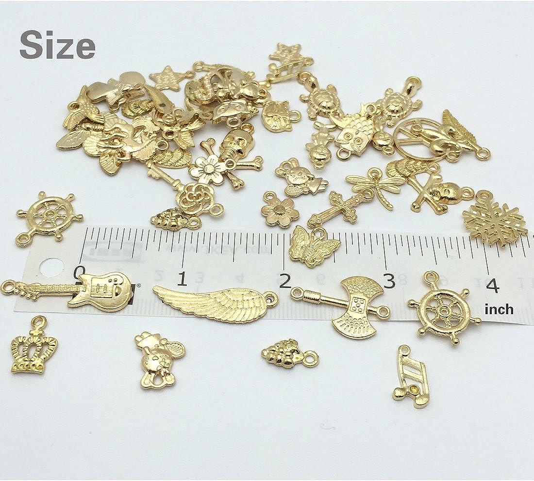10 pcs 12 x 13 x 1 mm Wholesale Metal Gold-Rimmed Black Pumpkin Carriage Charms Charms for Necklace Bracelet Anklet Making
