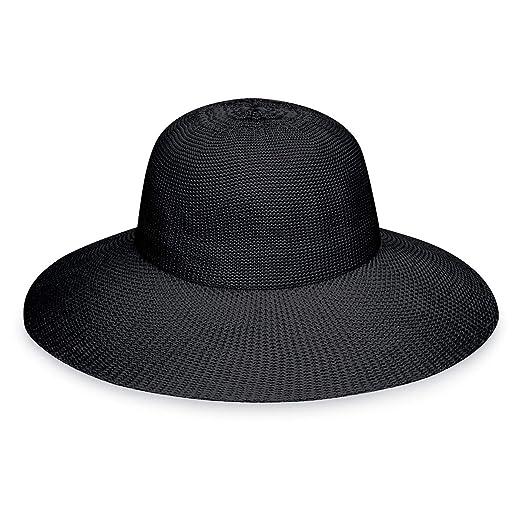 ff2c1a34010 Wallaroo Hat Company Women s Victoria Diva Sun Hat- Packable Straw Hat