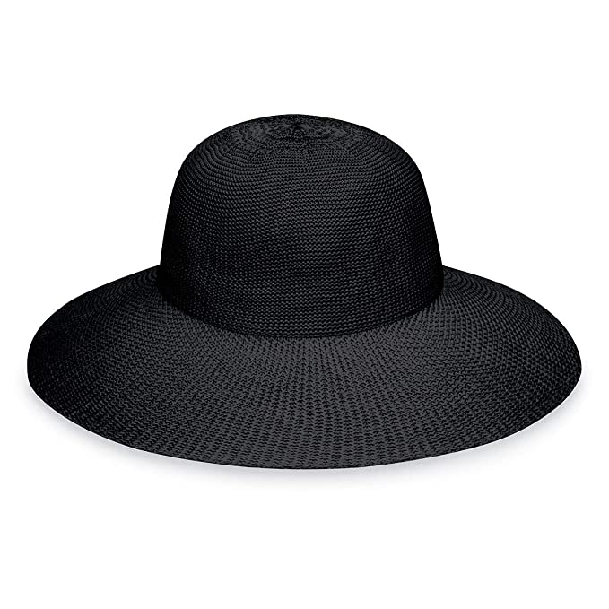 e89db6aa5f7be Wallaroo Hat Company Women s Victoria Diva Sun Hat- Packable Straw Hat