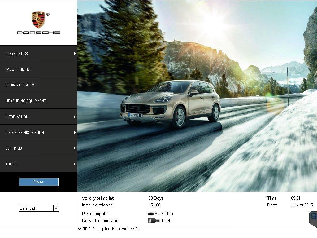 Amazon.com: Piwis II Tester piwis 2 With CF19 Laptop Porsche Software V15.10 Shipping Via DHL: Car Electronics