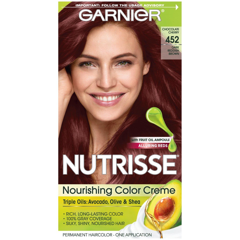Amazon Garnier Nutrisse Nourishing Hair Color Creme 452 Dark