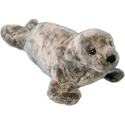 Douglas Speckles Monk Seal Plush Stuffed Animal: Toys & Games