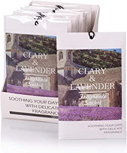 12Packs Lavender Scented Sachets Bags Closet Freshener for Drawer and Closet 4 Scents Optional -RCS-1 ROSE COTTAGE