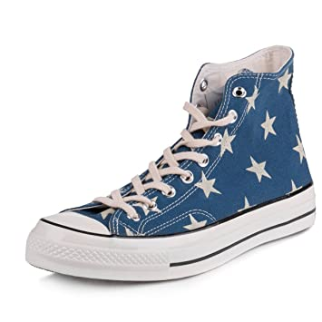 8fcaa0c9eea56f Converse Mens Chuck Taylor 1970 HI Legion Blue Red-White Canvas Size Mens 11  Womens 13 Casual Shoes  Amazon.co.uk  Sports   Outdoors