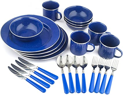Stansport 16 Piece Deluxe Cutlery Set