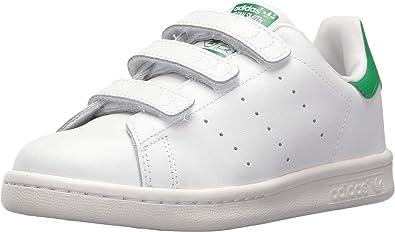 adidas Originals Boys Stan Smith CF C Running Shoe, White/Green, 13.5 Medium US Little Kid: ADIDAS: Amazon.es: Zapatos y complementos