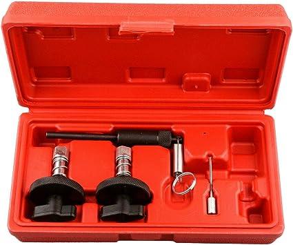 Set di 4 strumenti per la messa in fase del motore diesel.