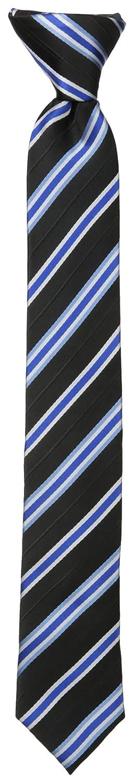Dockers Big Boys Stripe Clip On Tie Black One Size Dockers Boys 8-20 Belts DY00150007