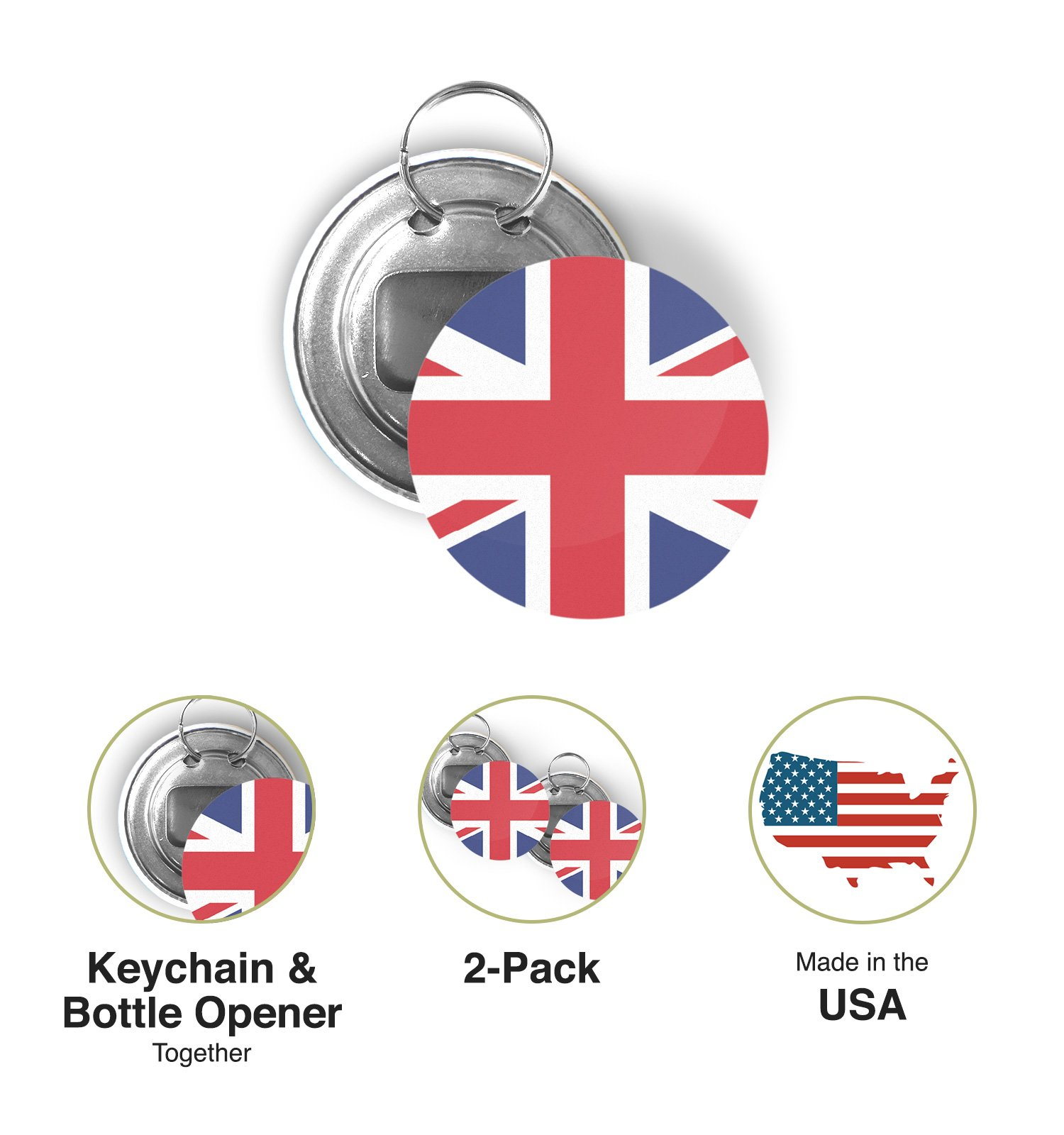 FREE UK Delivery! USA AMERICA Car Window Flag 2 Pack