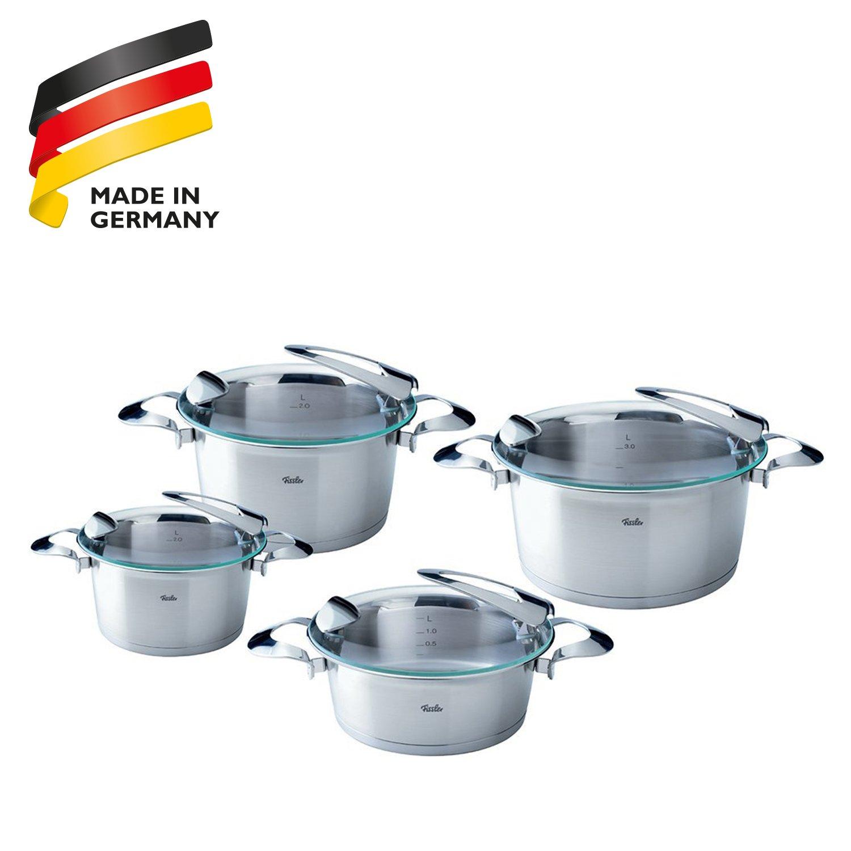 Amazon.com: Fissler Solea 8 Piece Cookware Set: Fissler Pressure ...