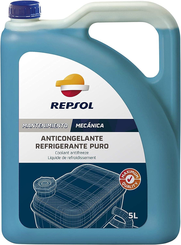 Repsol RP700R39 Anticongelante Refrigerante Puro, 5 L