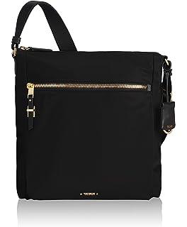 a2f53afb620 TUMI - Voyageur Canton Crossbody Bag - Over Shoulder Satchel for Women -  Black