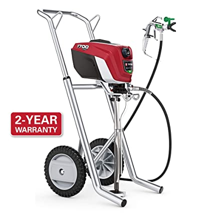 159e15da7 Amazon.com: Titan Tool 580006 Titan High Efficiency Airless Paint Sprayer  ControlMax 1700 Pro, Control Max w/cart: Home Improvement