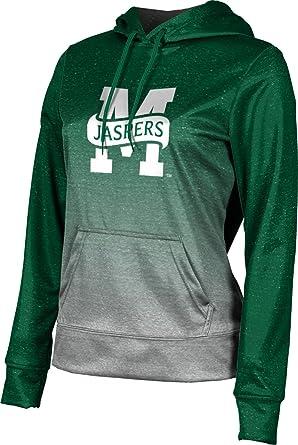 buy online b600f 5c9d8 Manhattan College Women s Pullover Hoodie, School Spirit Sweatshirt (Ombre)  FD071 Green and Light