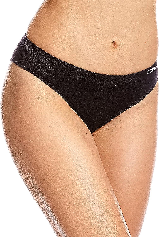 Dobreva Donna Mutandine Morbido Senza Cuciture Bikini Slip Pacco da 3