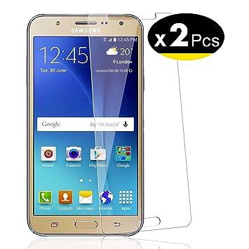 NEWC 2 Unidades, Protector de Pantalla para Samsung Galaxy J7 ...
