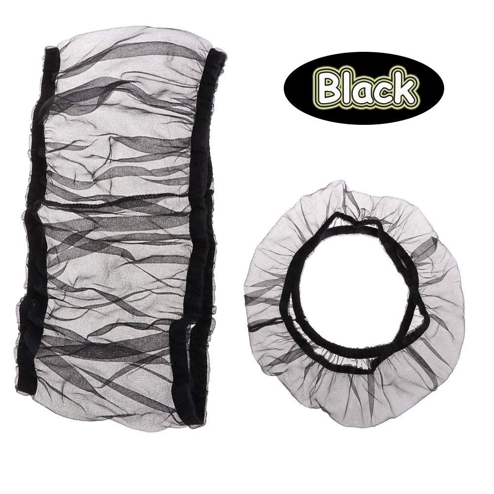 Bonaweite Mesh Bird Seed Catcher, Birds Cage Net Cover, Soft Nylon Skirt with Adjustable Drawstring by Bonaweite