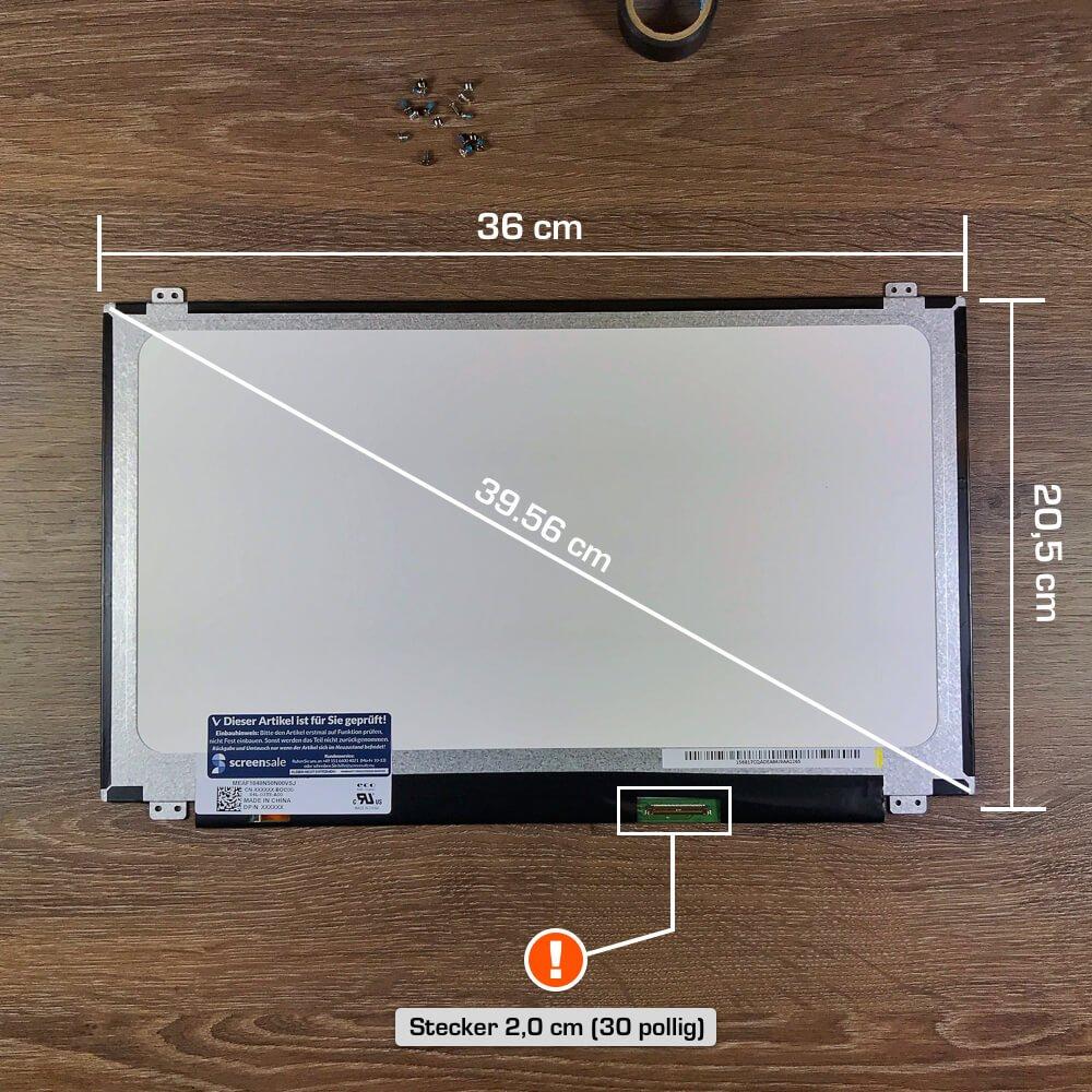 N156HGE-EA1 LCD Display Bildschirm 15.6 FHD 1920x1080 LED 30pin eDP eyz F-380 screensale