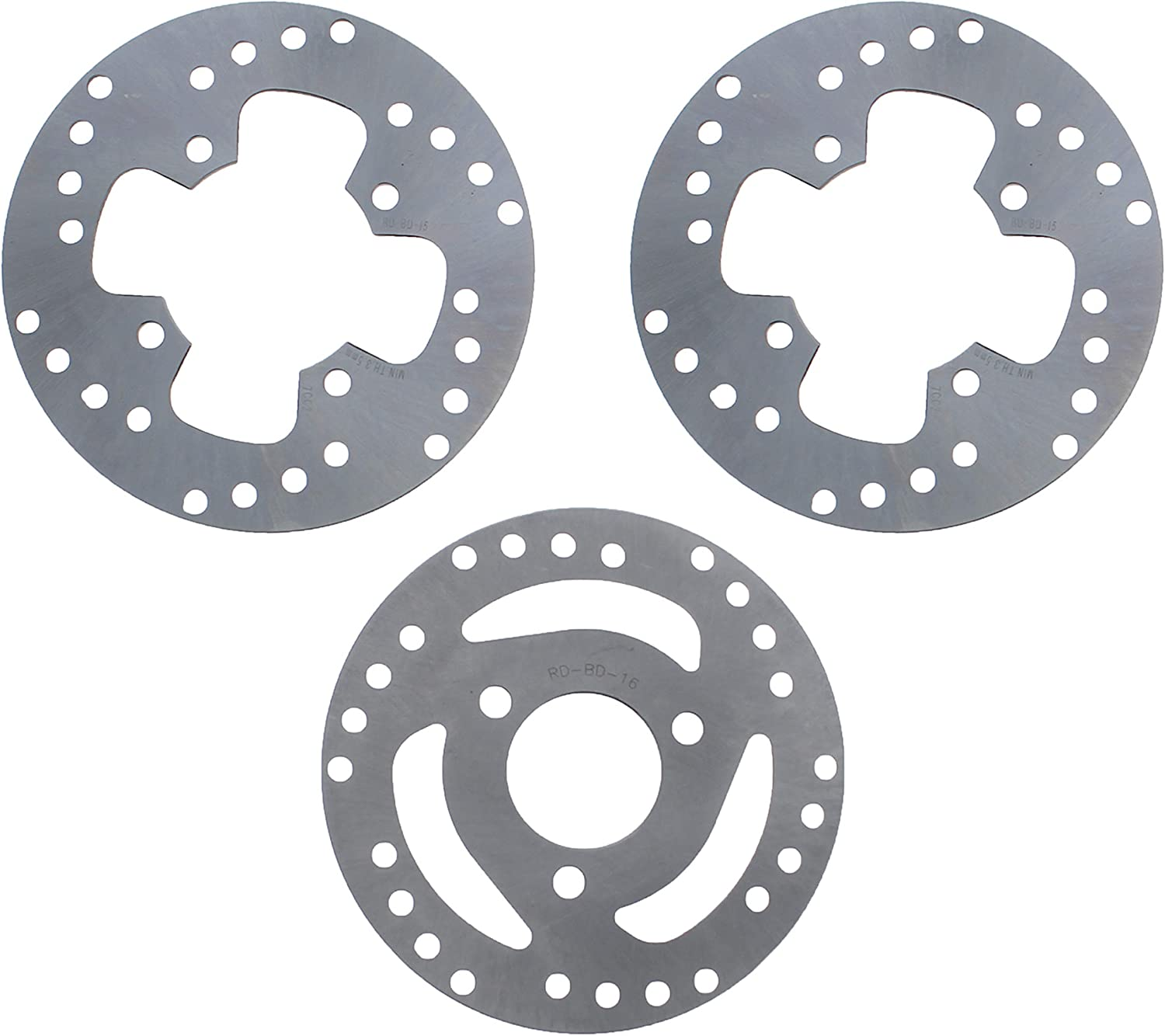 FRONT REAR BRAKE PADS FITS POLARIS TRAIL BOSS 325 2001 2002