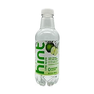 Hint Water Crisp Apple, (Single Bottle) 16 Fl oz