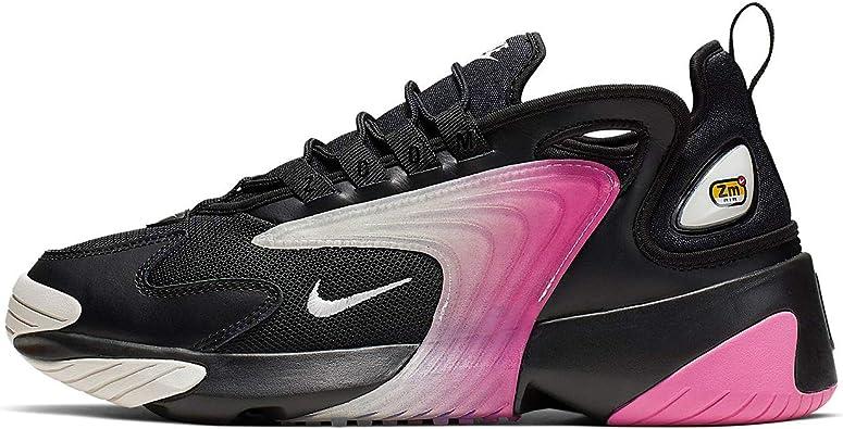 Amazon.com | Nike Women's Zoom 2K Casual Shoes (7, Black ...