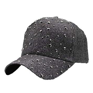 GSFD&DFGW Sombrero de béisbol de Color Rosa sólido para Mujer con ...