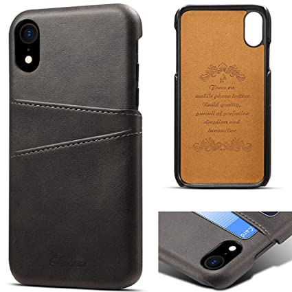 Amazon.com: Funda tipo cartera para iPhone Xs/X, soporte ...