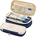 EASTHILL Big Capacity Pencil Pen Case Office College School Large Storage