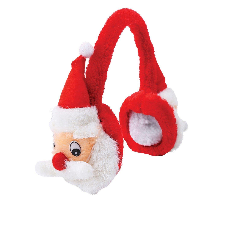 christmasshop Paraorecchie natalizi con pupazzetti in peluche UTRW3409_2