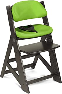 product image for Keekaroo Kids Chair with Comfort Cushions in Espresso and Lime, 0055223KR-0001