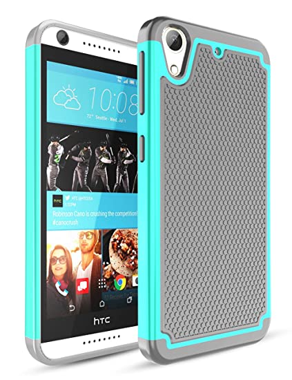 cheap for discount 998eb 9cfa4 HTC Desire 626 Case,Desire 626S Case,TILl(TM) [Shockproof] Hybrid Dual  Layer Rubber Plastic Impact Armor Defender Hard Protective Case Cover for  HTC ...