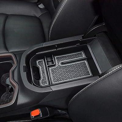 RAV4 Interior Accessories,Armrest Storage Compatible for Toyota Rav4 Center Console Organizer,Center Console Tray Compatible with Toyota Rav4 2020 2020,Keep The Center Console Organized (White): Automotive