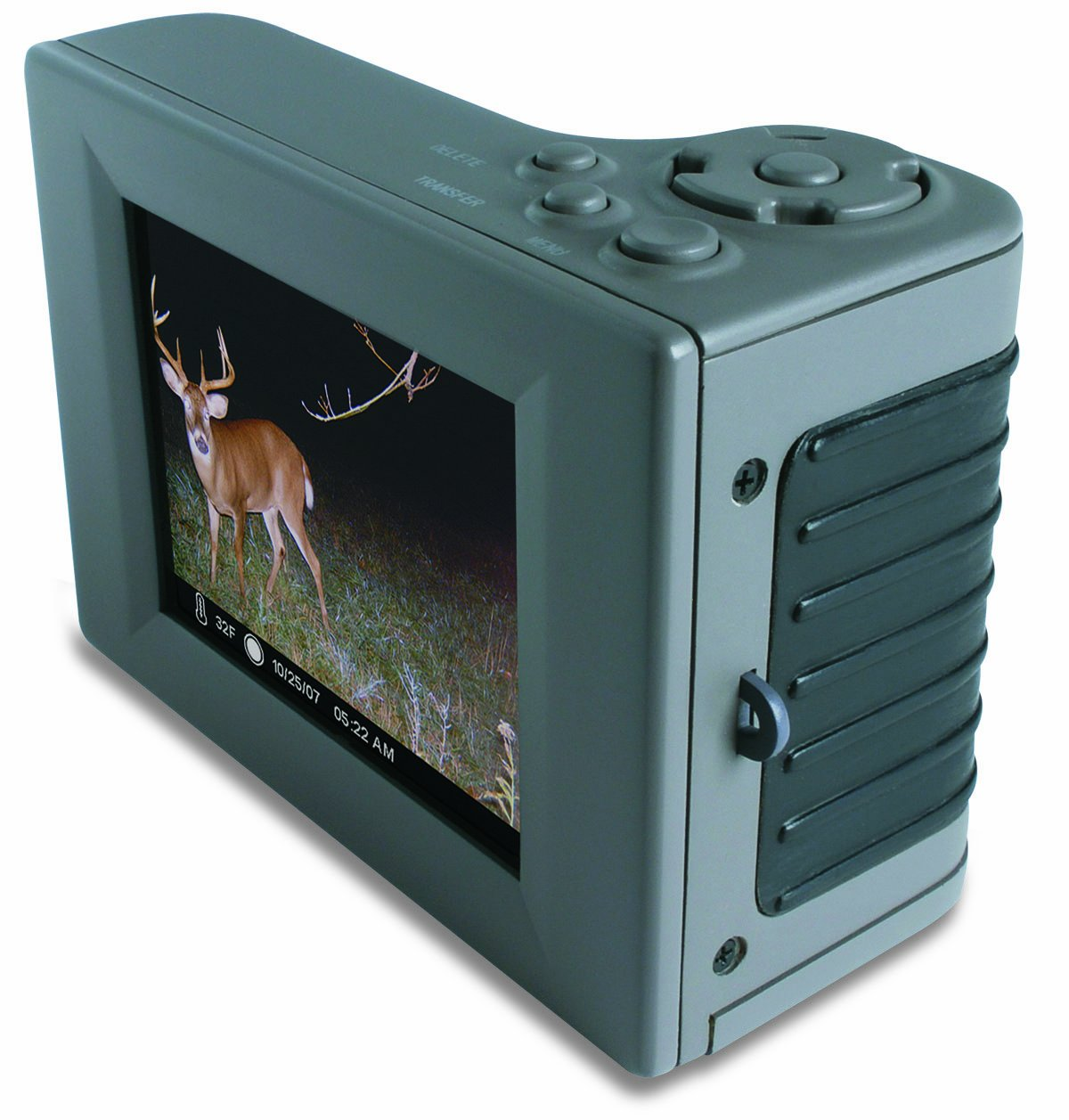 Moultrie Digital Picture Viewer, Black, 2 x 6 x 8.25